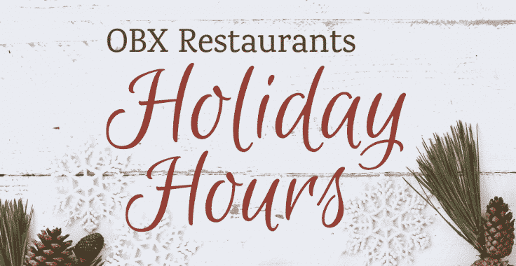 Restaurants Open On Christmas Day 2021 In Moore County Nc Outer Banks Restaurants Open For The Holidays 2020